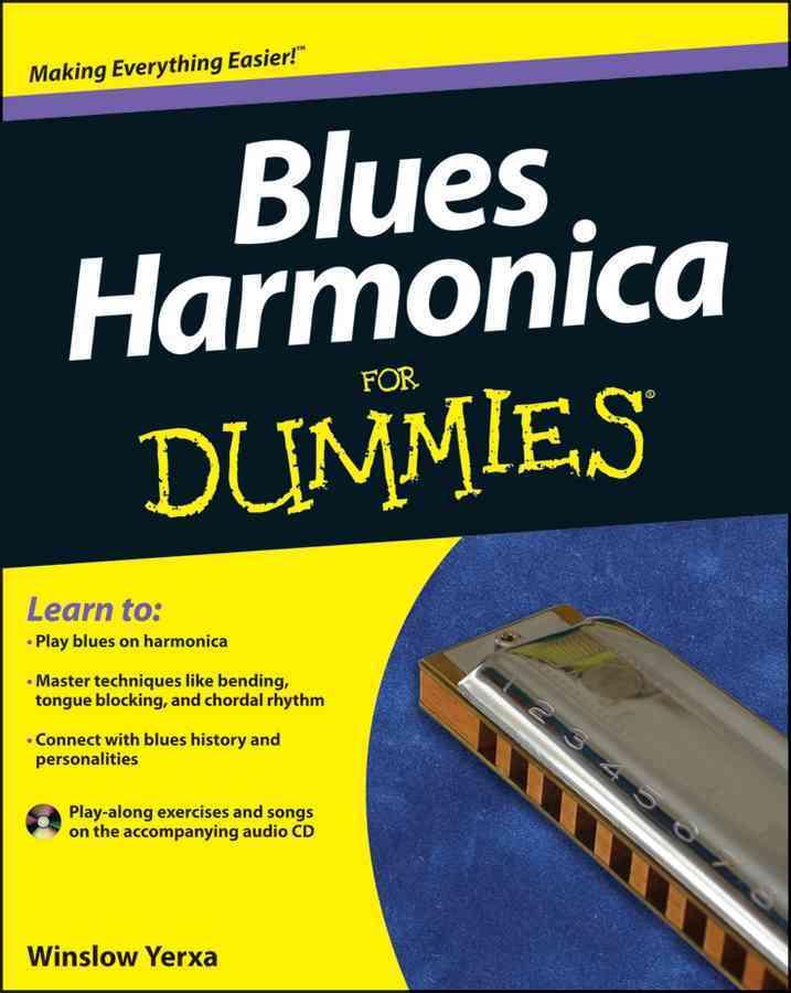 Blues Harmonica for Dummies By Yerxa, Winslow